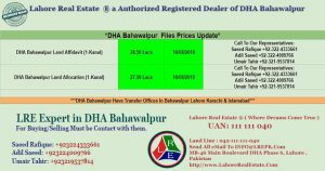 dha bahawalpur files are available for sale 10 August 2018