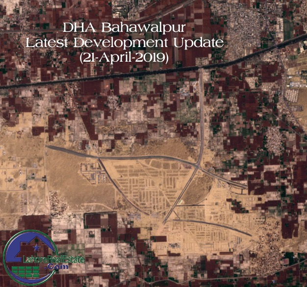 DHA Bahawalpur Development Status - Map Update April 2019