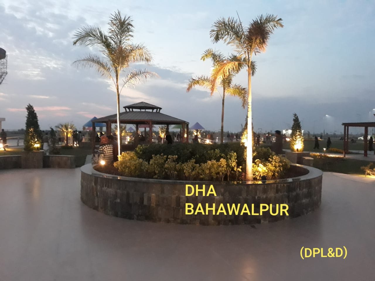 DHA Bahawalpur Night View (2)